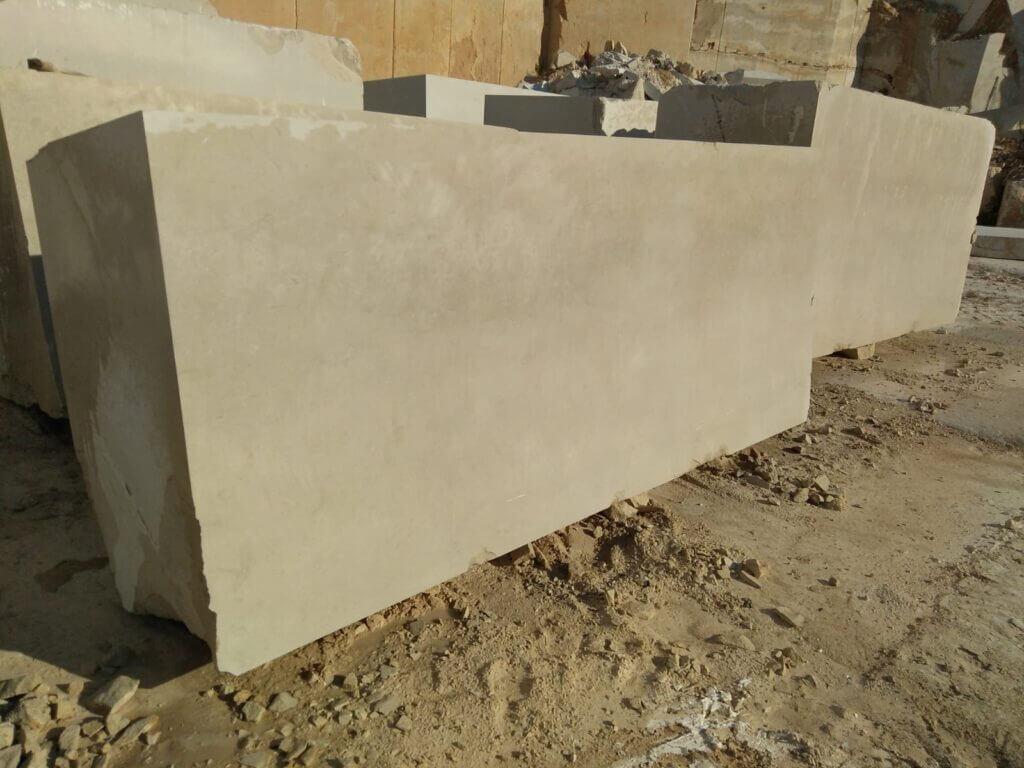croatian limestone block